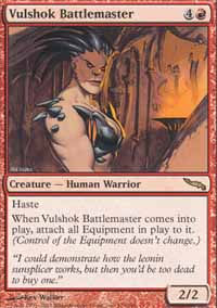 Vulshok Battlemaster - Mirrodin