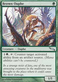 Brown Ouphe - Mirrodin