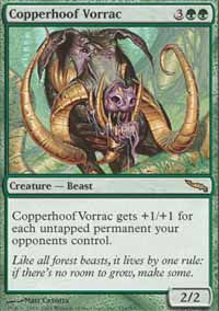 Copperhoof Vorrac - Mirrodin