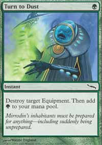 Turn to Dust - Mirrodin