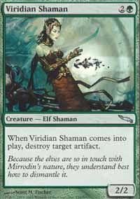 Viridian Shaman - Mirrodin