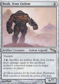 Bosh, Iron Golem - Mirrodin