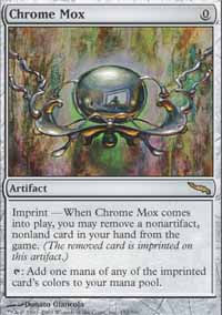 Chrome Mox - Mirrodin