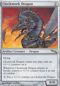 Clockwork Dragon - Mirrodin