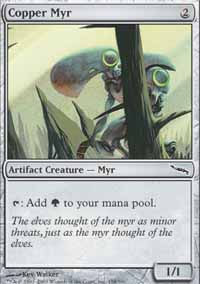 Copper Myr - Mirrodin