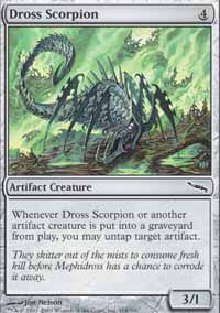 Dross Scorpion - Mirrodin