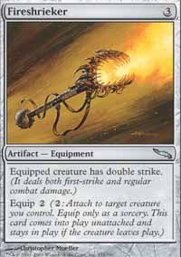 Fireshrieker - Mirrodin