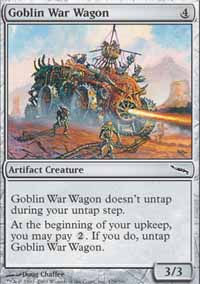 Goblin War Wagon - Mirrodin
