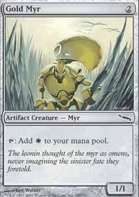 Gold Myr - Mirrodin