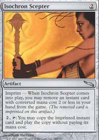 Isochron Scepter - Mirrodin