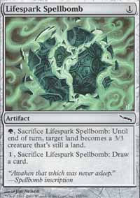 Lifespark Spellbomb - Mirrodin