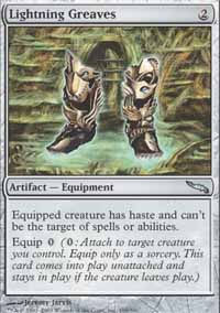 Lightning Greaves - Mirrodin