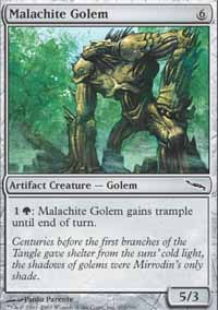 Malachite Golem - Mirrodin