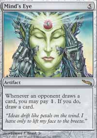 Mind's Eye - Mirrodin