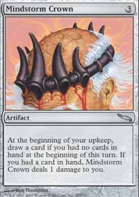 Mindstorm Crown - Mirrodin