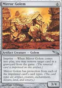 Mirror Golem - Mirrodin