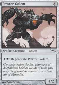 Pewter Golem - Mirrodin