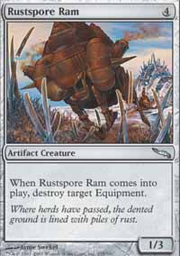 Rustspore Ram - Mirrodin