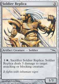 Soldier Replica - Mirrodin