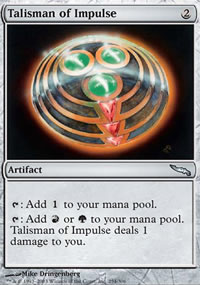 Talisman of Impulse - Mirrodin