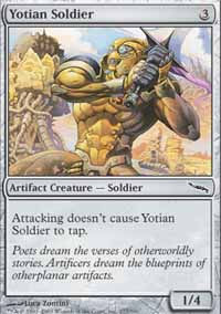 Yotian Soldier - Mirrodin