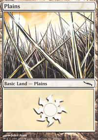 Plains 4 - Mirrodin