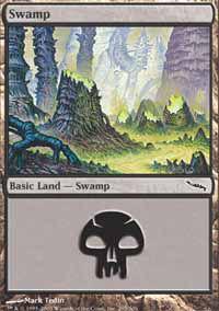Swamp 1 - Mirrodin