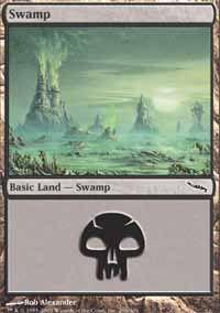 Swamp 2 - Mirrodin