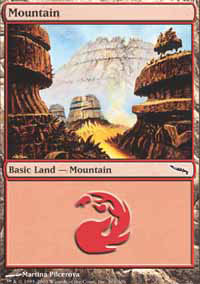 Mountain 3 - Mirrodin