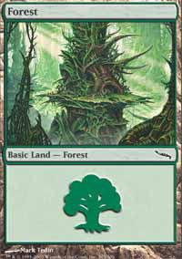 Forest 1 - Mirrodin