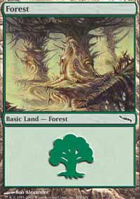 Forest 2 - Mirrodin