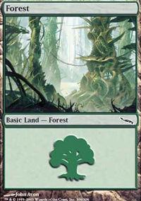 Forest 4 - Mirrodin