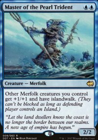 Master of the Pearl Trident - Merfolks vs. Goblins