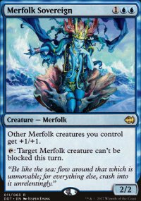 Merfolk Sovereign - Merfolks vs. Goblins
