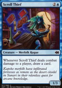 Scroll Thief - Merfolks vs. Goblins