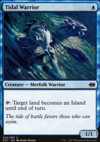 Tidal Warrior - Merfolks vs. Goblins