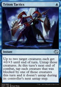 Triton Tactics - Merfolks vs. Goblins