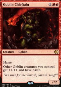 Goblin Chieftain - Merfolks vs. Goblins