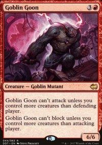 Goblin Goon - Merfolks vs. Goblins