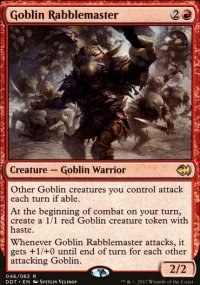 Goblin Rabblemaster - Merfolks vs. Goblins