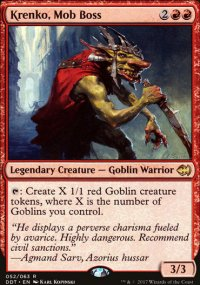 Krenko, Mob Boss - Merfolks vs. Goblins