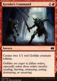 Krenko's Command - Merfolks vs. Goblins