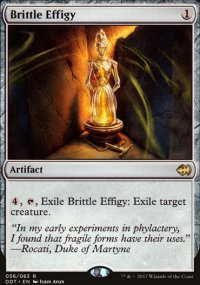 Brittle Effigy - Merfolks vs. Goblins