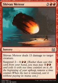 Shivan Meteor - Mind vs. Might