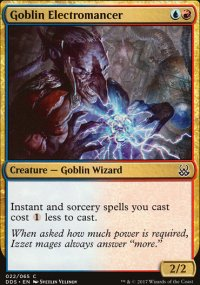 Goblin Electromancer - Mind vs. Might