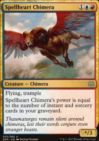 Spellheart Chimera - Mind vs. Might