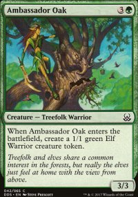 Ambassador Oak - Mind vs. Might