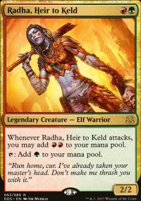 Radha, Heir to Keld - Mind vs. Might