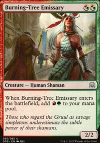 Burning-Tree Emissary - Mind vs. Might