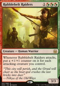 Rubblebelt Raiders - Mind vs. Might
